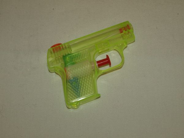 Water pistool, 8,5<br>cm in de zak