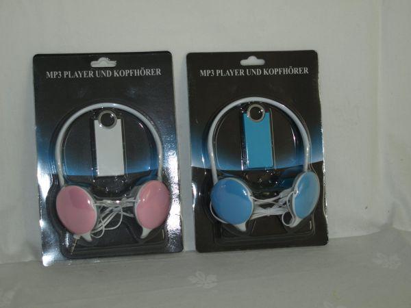 MP3 Player mit<br>Kopfhörern