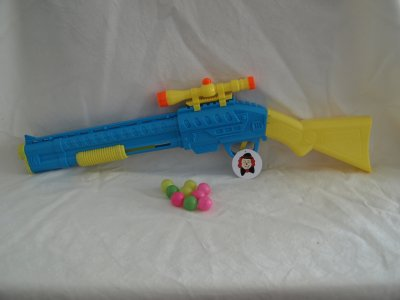 Buntes Ballgewehr