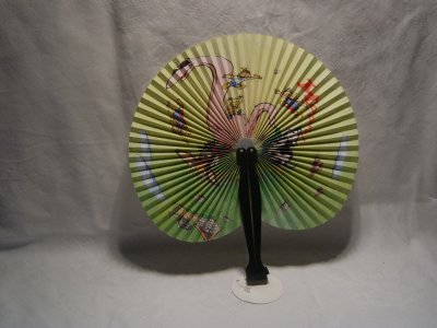 Papierfächer mit<br>Plastikgriff