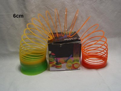 Bunte Spirale in<br>Box, 6cm