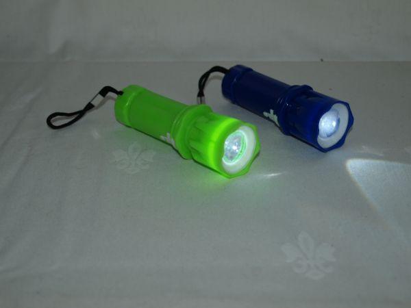 Taschenlampe mit Band