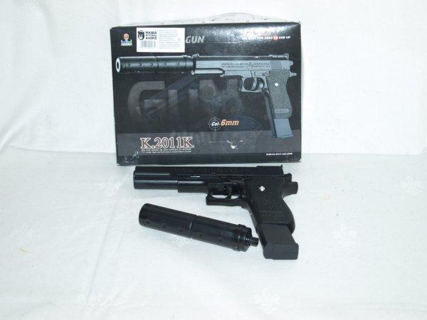 Bal pistool met extensie