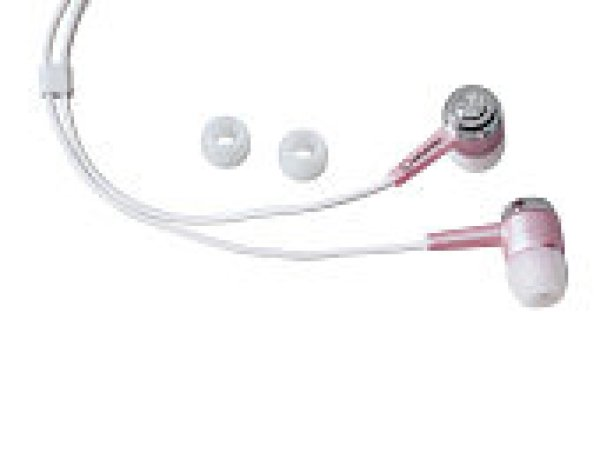 -Grundig-Stereo<br>Ohrhörer, rosa