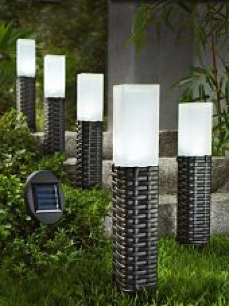 Solar-Gartenstecker