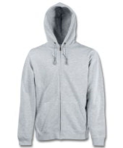 Fruit of the Loom<br> - Hooded Sweat<br>Jacket, szary, XL