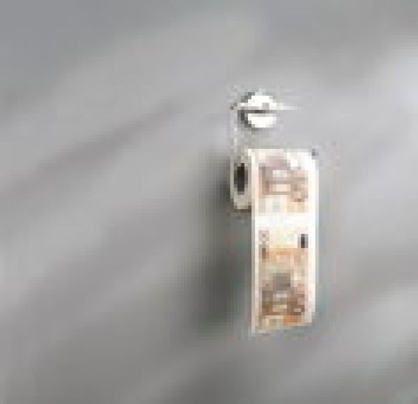 TOILETTENPAP.50 EURO,2ER SET