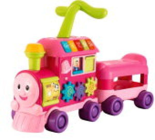 Spiel-Express<br>  Eisenbahn ,<br>(Farbe: pink)