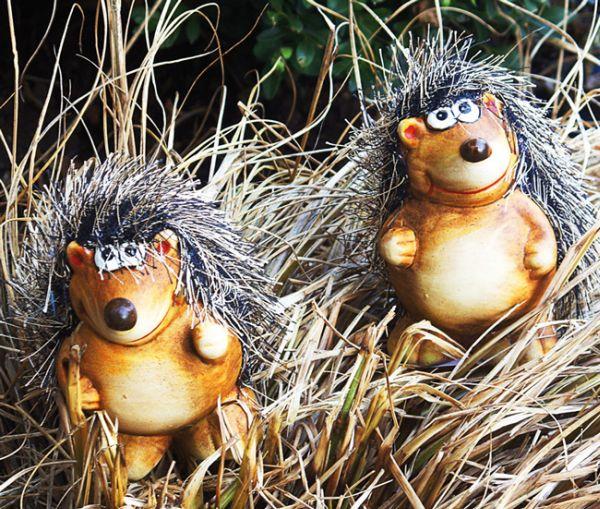 Hedgehog with<br> Strubbelhaaren Set<br>of 2