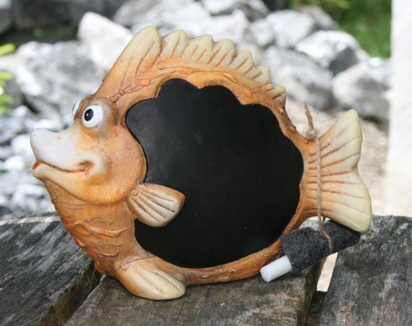 Fish as a writing board