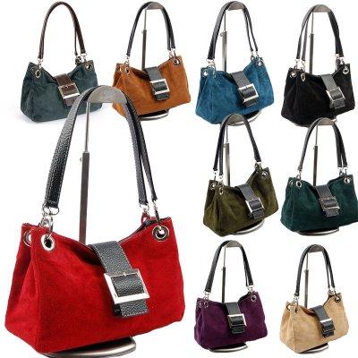 Taschen Wildleder<br>Handtasche