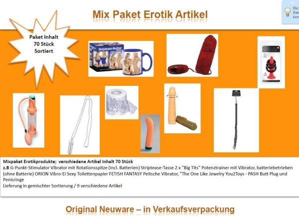 Mix-Paket Erotik Artikel