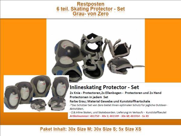Remnants 6 part.<br> Skating Protector<br>- Set of gray