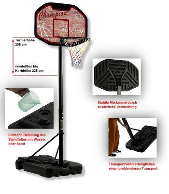 Basketball-Anlage<br>Bandito  Champion