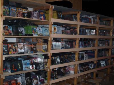 DVD Posten mit 250<br>DVDs NEUWARE OVP