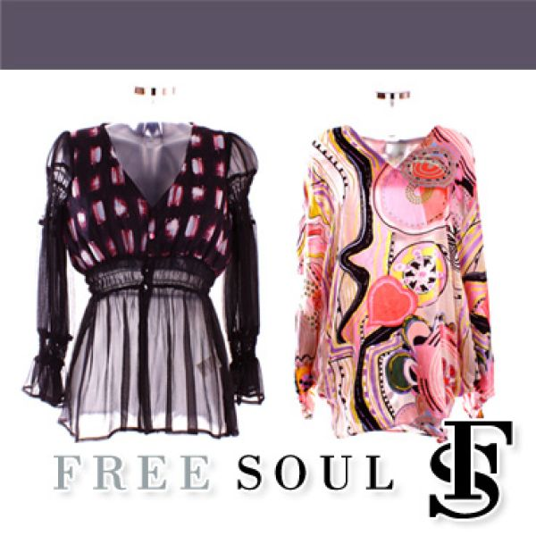FREESOUL<br> Frauenbekleidung<br>GROßHANDEL