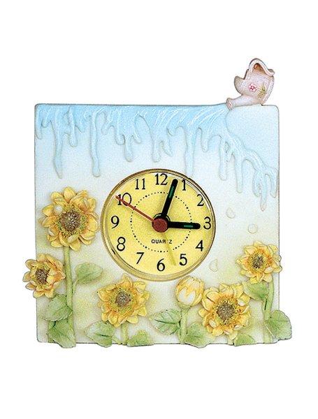 CLOCK FRAME FLOWER<br>SUNFLOWER 3D