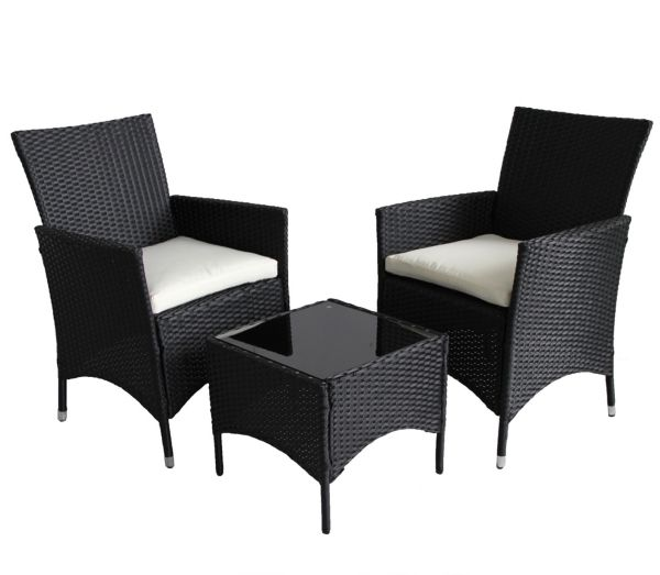 (6010) POLY RATTAN GARDEN FURNITURE SET BALCONY