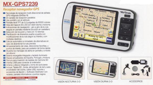 GPS-EMPFÄNGER NAVIGATOR