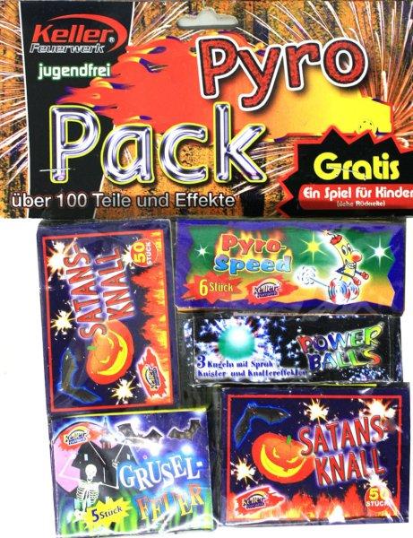 Pyro Pack 114tlg. Kat I Feuerwerk Jugendfrei