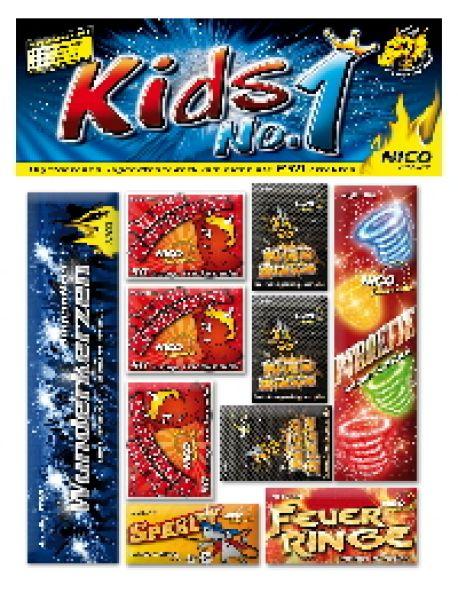 Kids No 1, 11 tlg. Jugend Feuerwerk f Party