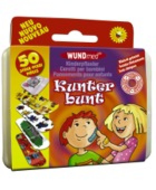 Kinderpflaster Box<br>,,Kunterbunt