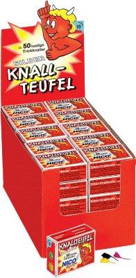 Knallteufel Trickknaller 50erPack Jugend Feuerwerk