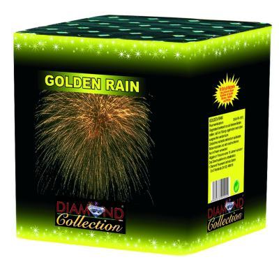 Golden Rain 5x5 S Feuerwerk Batterie Silvester
