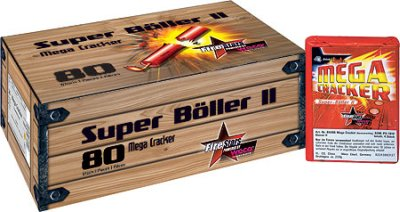 Mega Cracker WECO Super Böller II Knall  Feuerwerk
