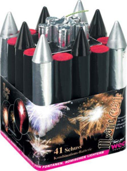 Mystic Castle, 41-Schuß-Kombinations-Batterie