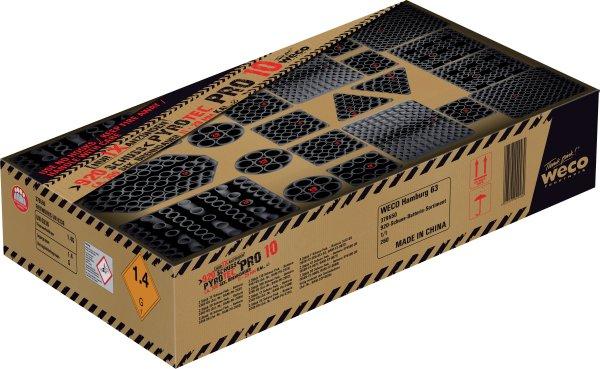 Pyro Tec Pro 10 920-Schuss Event-Feuerwerks-Box