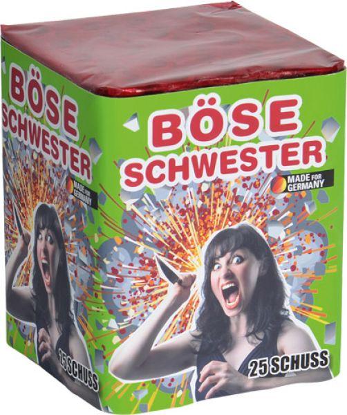 Böse Schwester 25-Schuss Batterie Feuerwerk