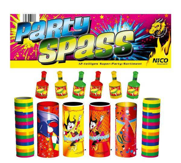 Partyspaß 12 tlg. Super-Party-Sortiment