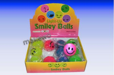 FLUMMI Smily - Springball, blinkend Smilie Display