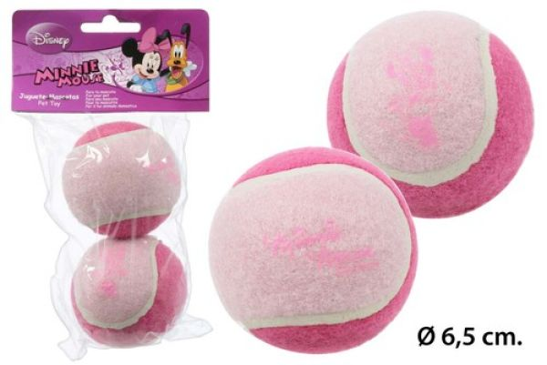 Game Ball 2-pc<br> Blister Ø6, 5cm<br>Minnie