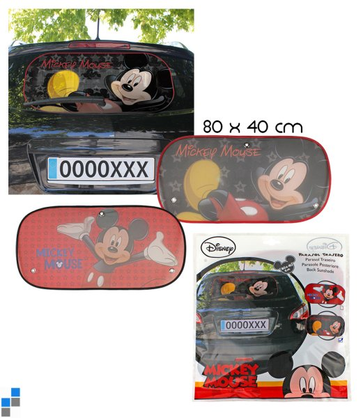 Car sunshade 2<br> assorted Disney<br>Mickey
