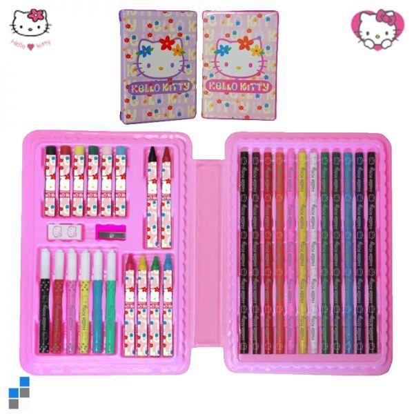 Malset 33-teilig Hello Kitty