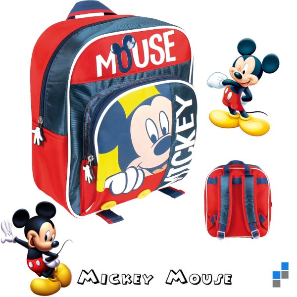 Preschool -<br> Backpack 27cm<br>Disney Mickey