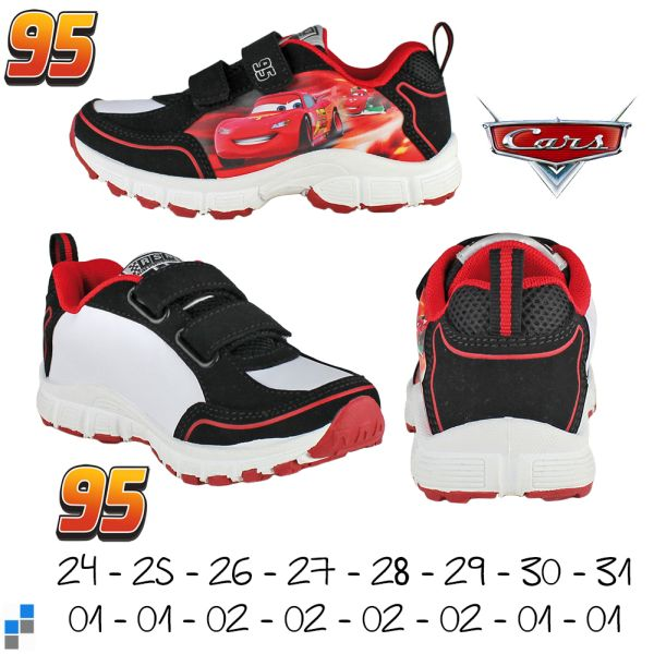 Sports shoes size<br>24-30 by Disney Cars
