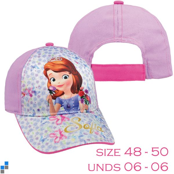 Basic Caps Size<br> 48-50 by Disney<br>Sofia