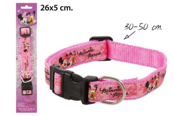 Hundehalsband<br> 30-50cm im Blister<br>Minnie