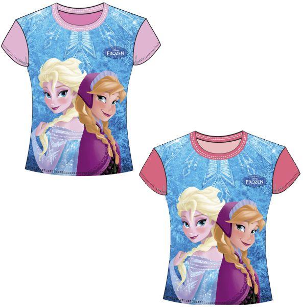 T-shirt 2 assortis Frozen Taille 2-8 ans