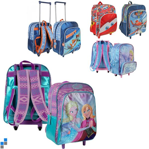 Sac à dos Trolley<br> 5x Disney Frozen<br>&amp; Co.