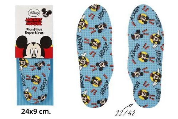 Wkładka Sport Gr..<br> 22-32 w blistrze<br>Mickey