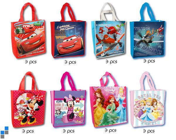 Kinder Einkaufstasche 8-fach sortiert Disney
