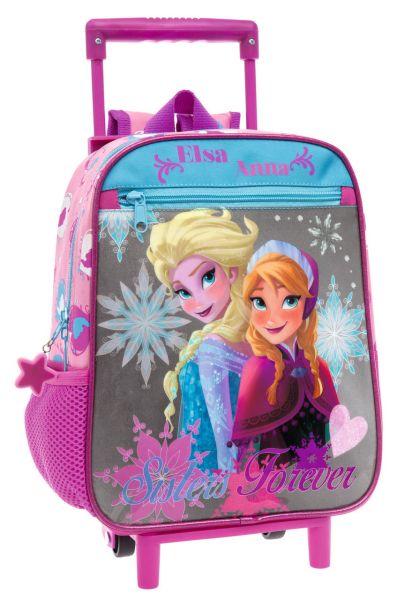 Trolley Backpack 28cm Disney Frozen Elsa & Ann