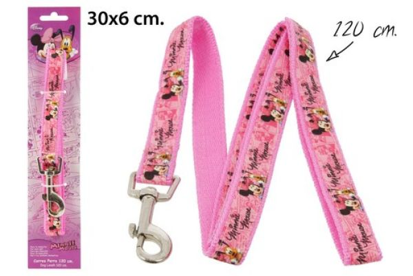 Dog Lead 120cm in<br>blister Minnie