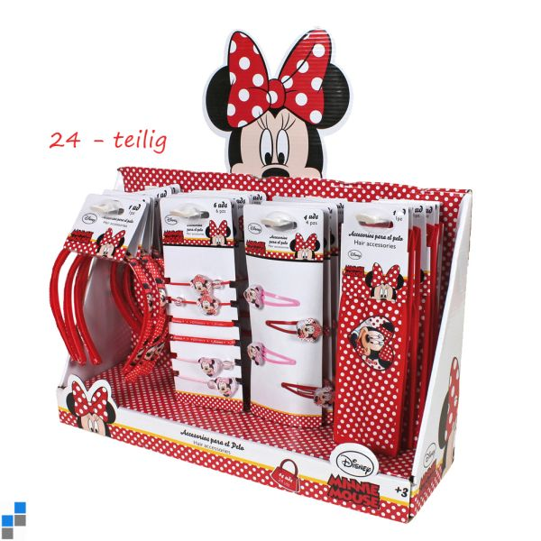 Hair Accessories<br> Set 24-piece<br>Disney Minnie