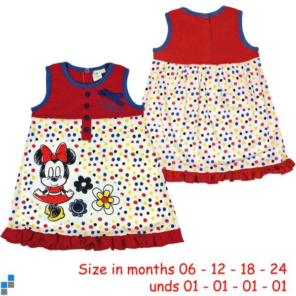 Baby dress size<br> 6-24 months by<br>Disney Minnie
