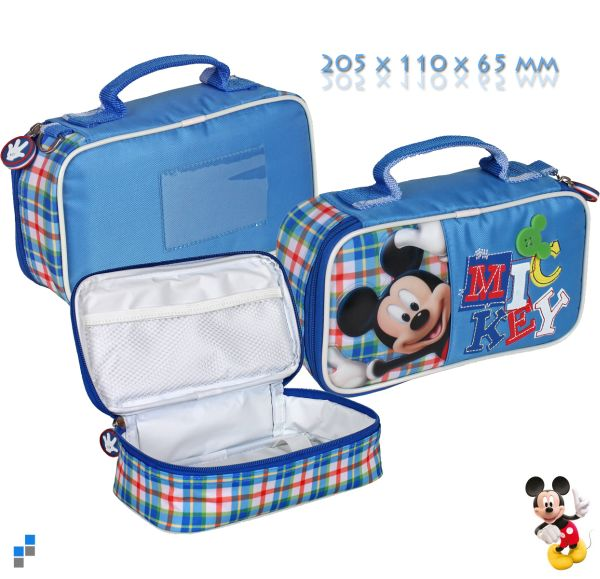 Insulated lunch<br>box 21x11x7cm Mickey